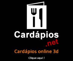 Cardapios online 3d